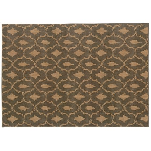 Oriental Weavers Casablanca Moroccan Tile Lattice Rug
