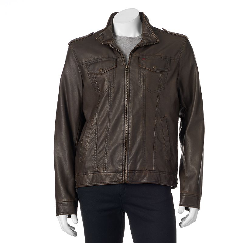 Men's Levi's 4-Pocket Faux-Leather Jacket