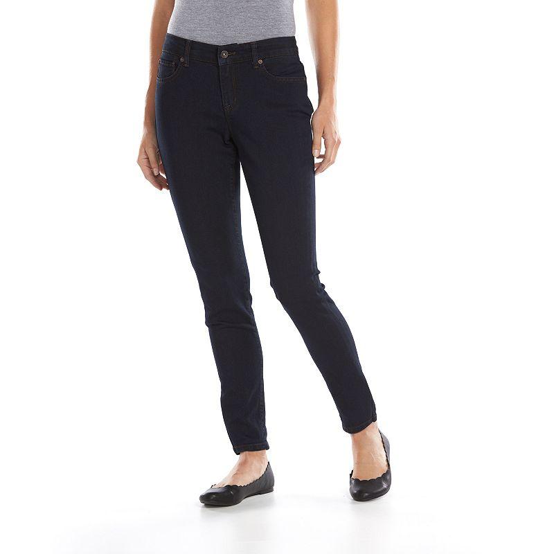 SONOMA life + style® Curvy Comfort Stretch Skinny Jeans - Women's