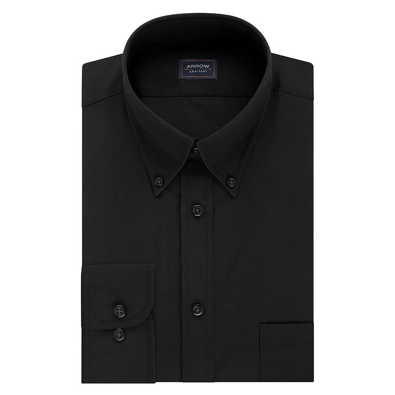 Men's Arrow Regular-Fit Wrinkle-Free Dress Shirt