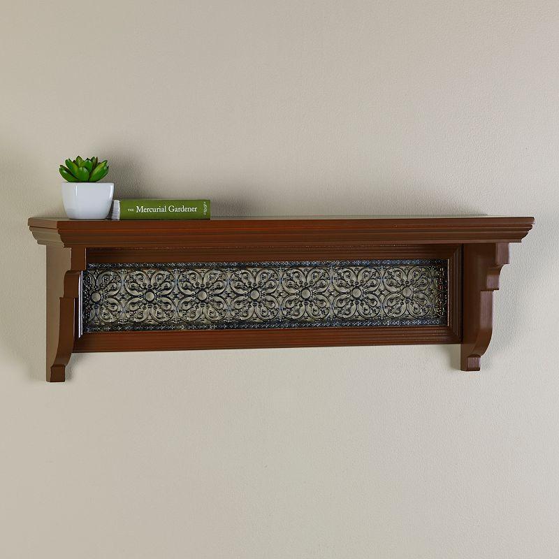 Melannco Decorative Cutout Wall Shelf