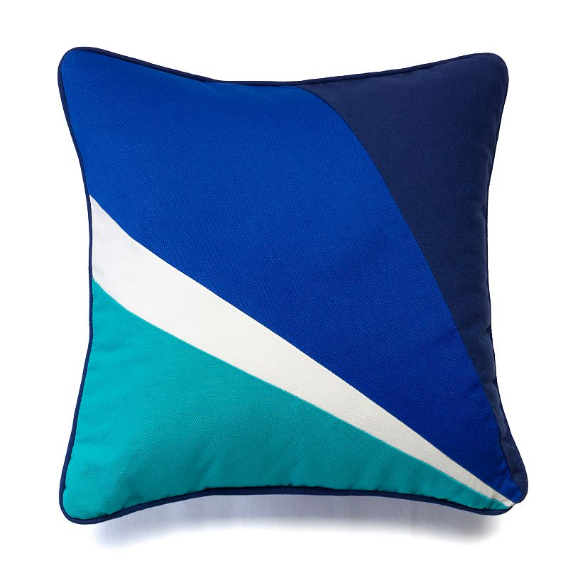 Happy Chic by Jonathan Adler Zoe Pieced Throw Pillow