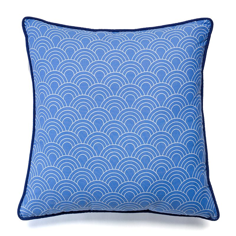 Happy Chic by Jonathan Adler Zoe Scalloped Throw Pillow