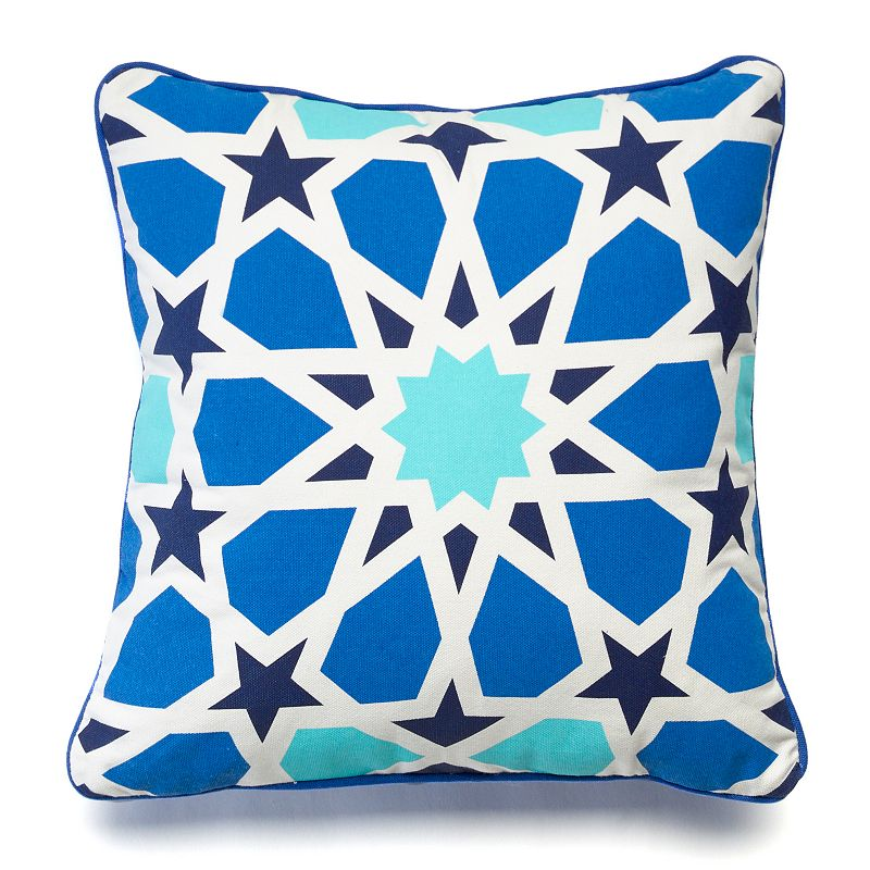 Happy Chic by Jonathan Adler Zoe Stained Glass Throw Pillow