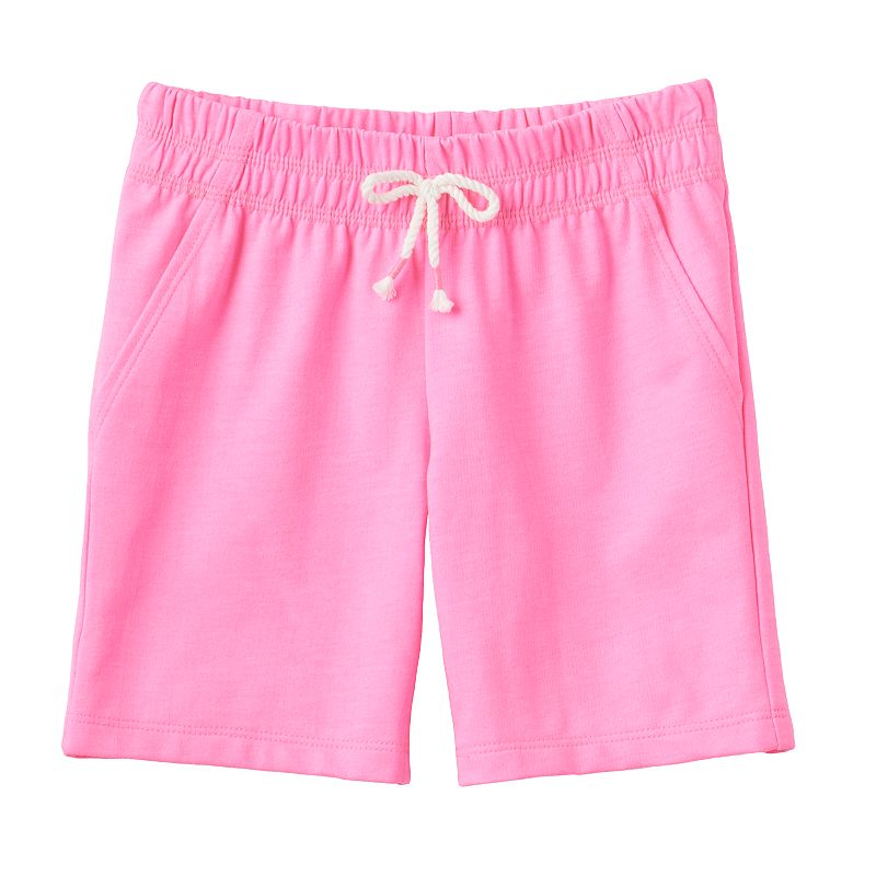 Toddler Girl Jumping Beans® Solid Knit Shorts