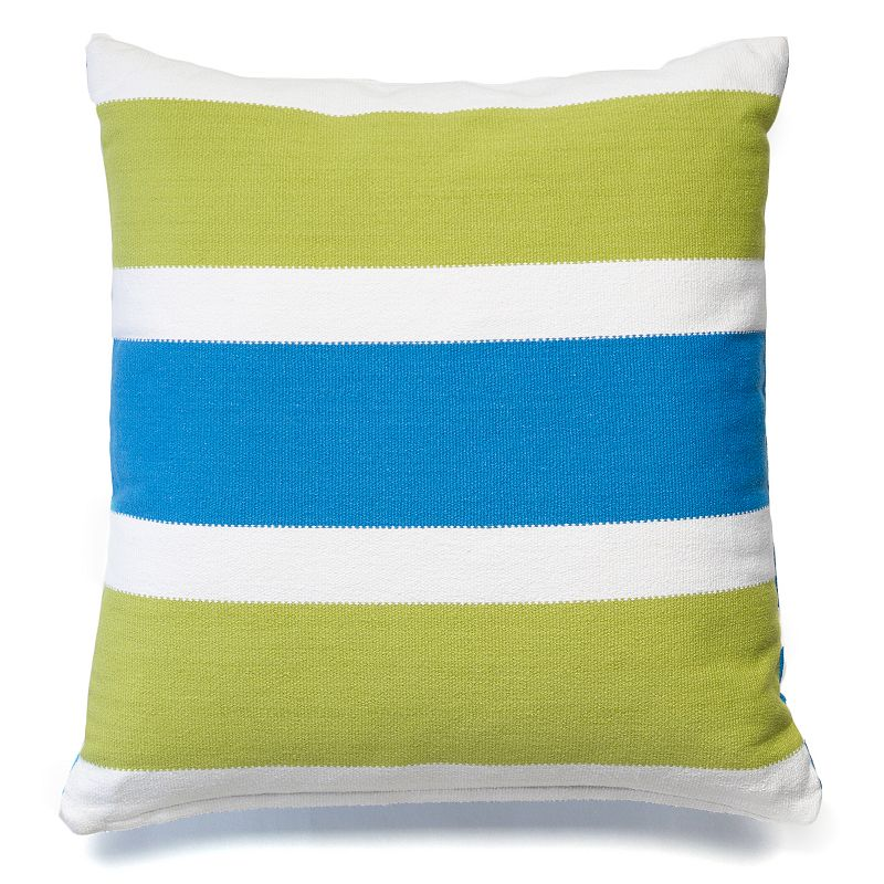 Happy Chic by Jonathan Adler Claire Striped Throw Pillow