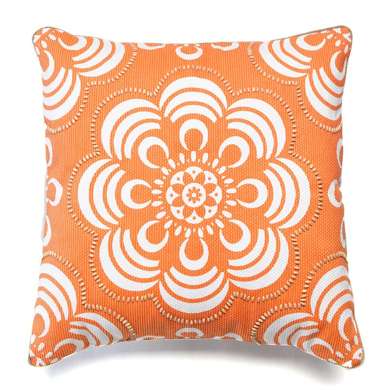 Happy Chic by Jonathan Adler Holly Floral Throw Pillow