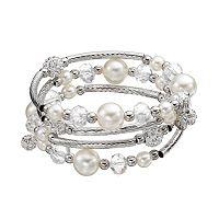 Croft & Barrow® Bead Coil Bracelet