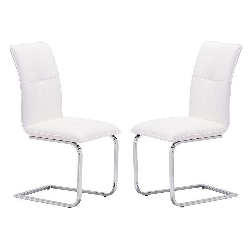 Zuo Modern 2-piece Anjou Dining Chair Set