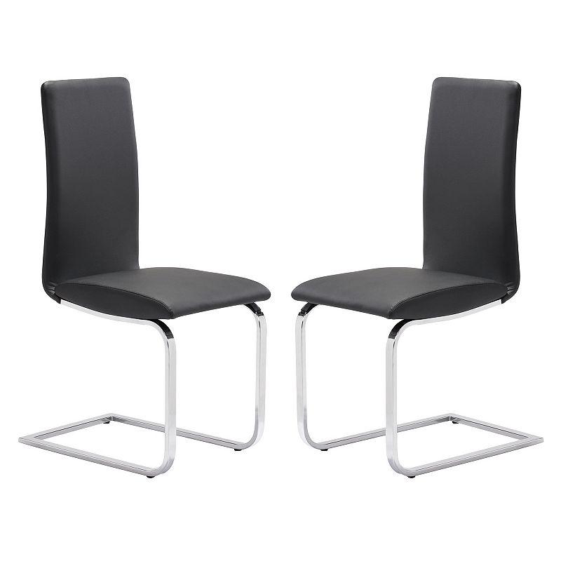 Zuo Modern 2-piece Lasalle Dining Chair Set