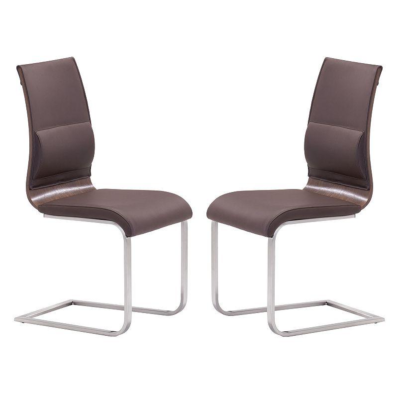 Zuo Modern 2-piece Roxboro Dining Chair Set