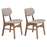 Zuo Modern 2-piece Midtown Dining Chair Set