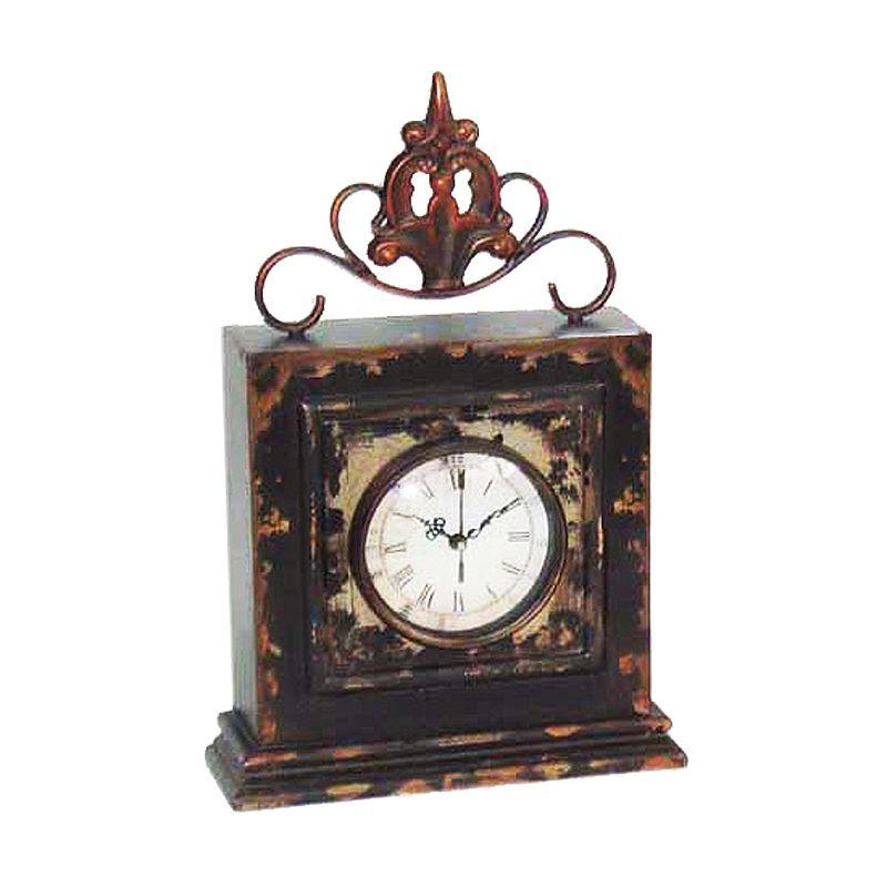 Sterling Finial Clock