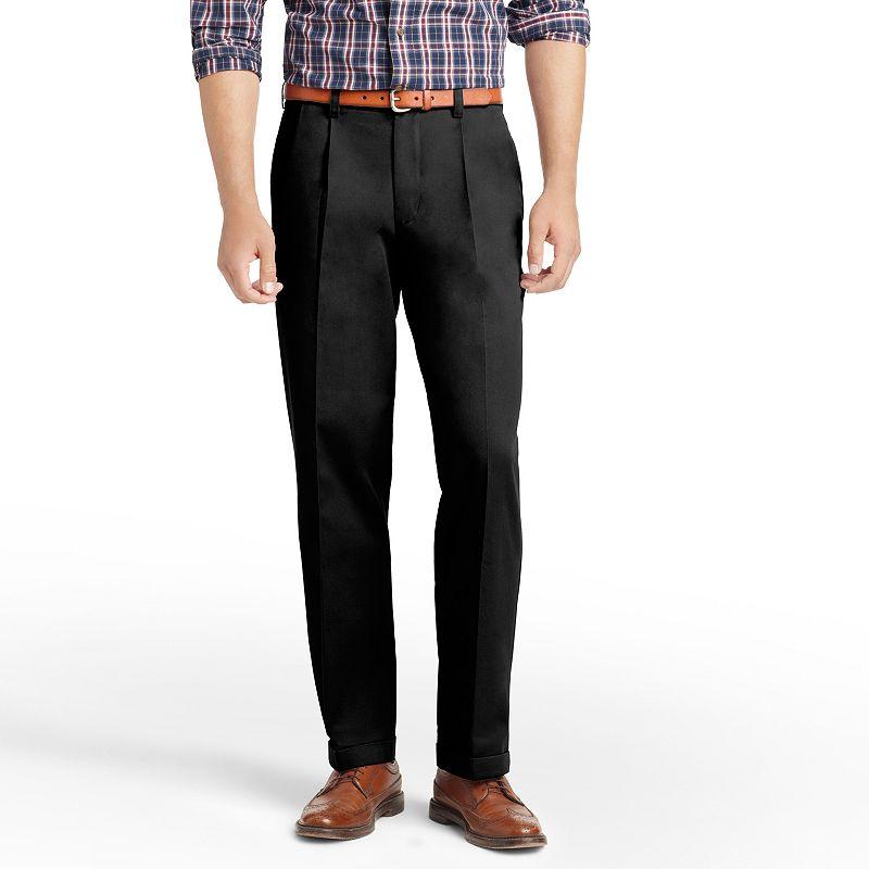 Big & Tall IZOD Pleated Chino Pants