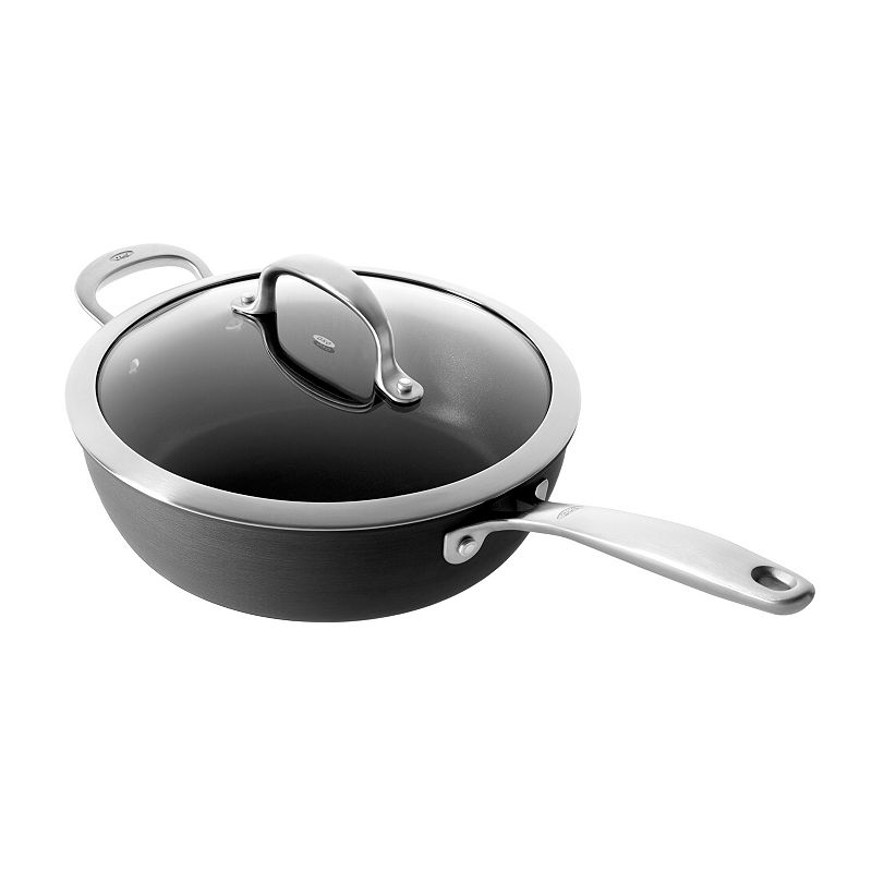 OXO Hard-Anodized Pro 3-qt. Nonstick Covered Saucepan