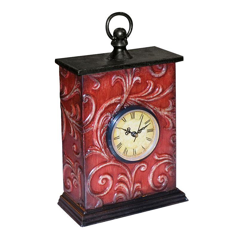 Sterling Vine Clock