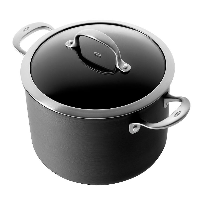 OXO Hard-Anodized Pro 8-qt. Nonstick Covered Stockpot