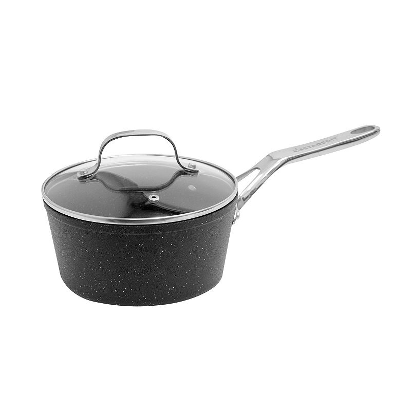 The Rock by Starfrit Nonstick 2-qt. Covered Saucepan