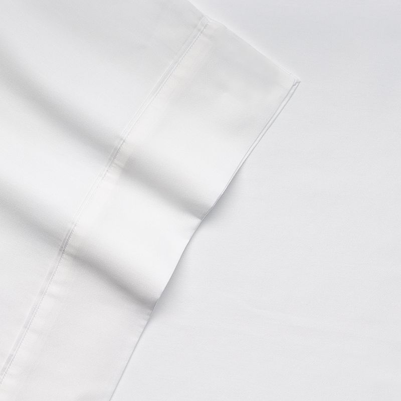 Kassatex Letto Solid 300-Thread Count Egyptian Cotton Sateen Sheets