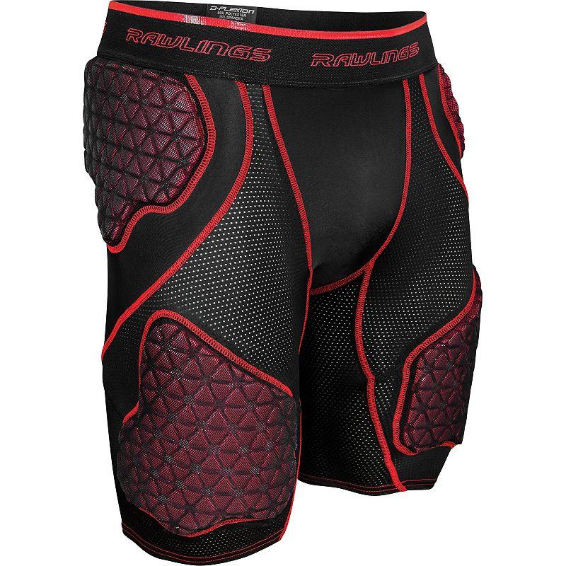Rawlings 5-Pad D-Flexion Compression Shorts - Adult