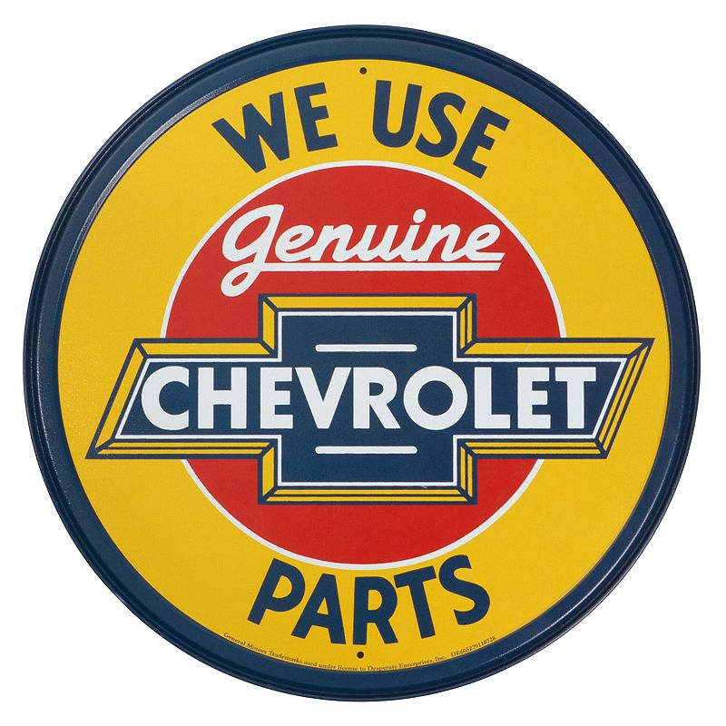 Chevrolet Vintage Metal Wall Decor
