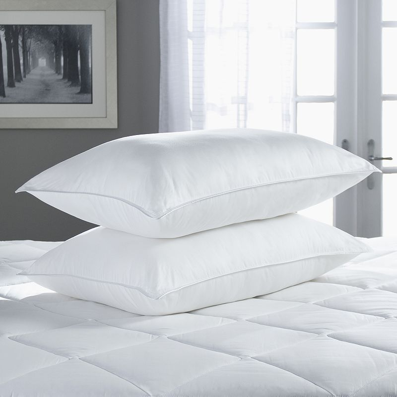 Sealy Egyptian Cotton Sateen Medium Density 2-pk. Pillows
