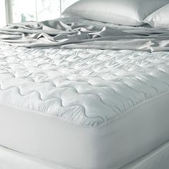 Sealy Waterproof Microfiber Deep-Pocket Mattress Pad by
