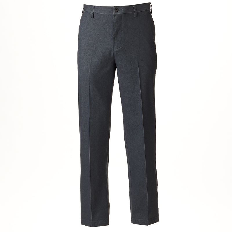 Men's Croft & Barrow® Straight-Fit Stretch True Comfort Flat-Front Pants