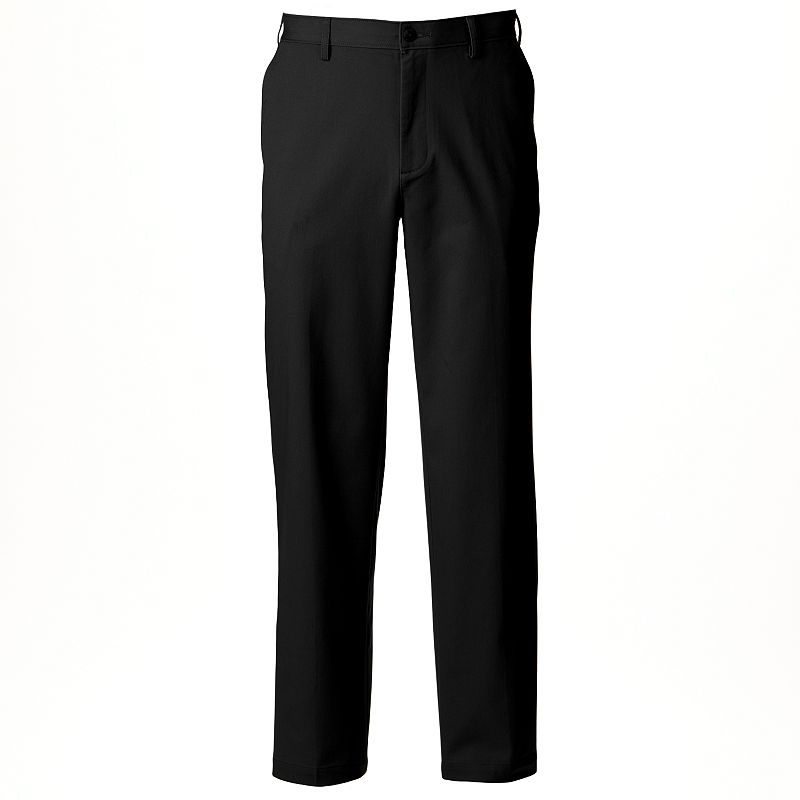 Men's Croft & Barrow® Classic-Fit Stretch True Comfort Flat-Front Pants