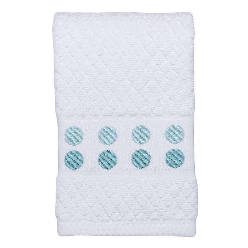 Mondrian Dot Embroidered Hand Towel