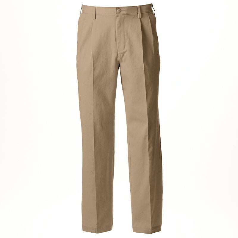 Men's Croft & Barrow® Classic-Fit Stretch True Comfort Pleated Pants