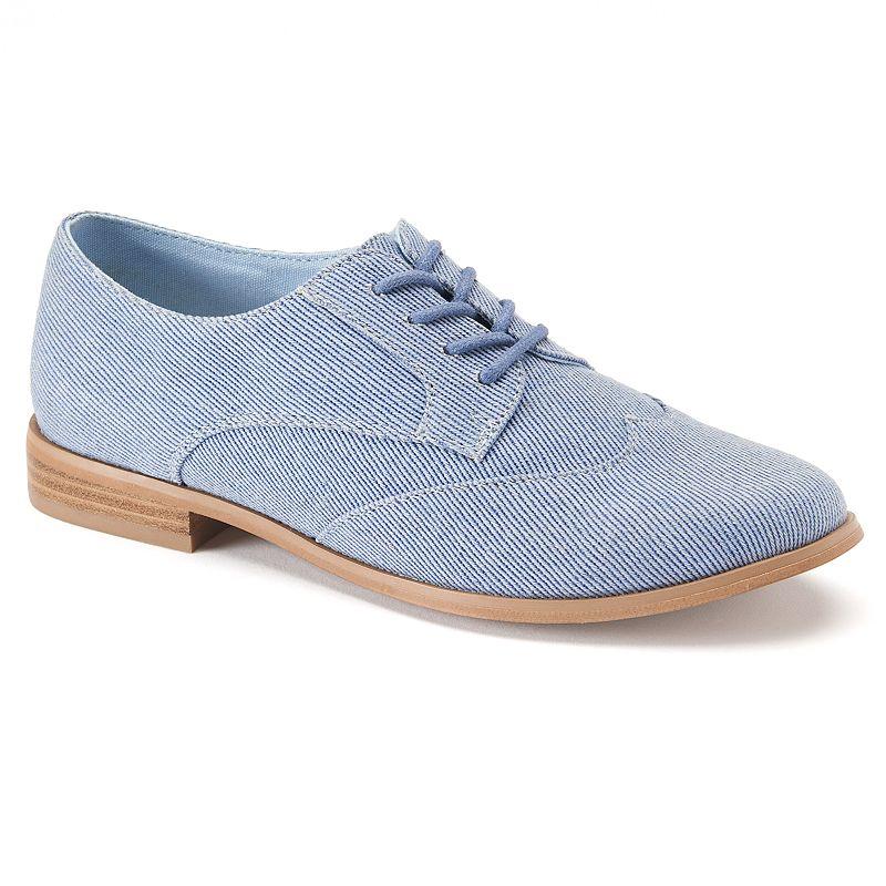 ShoeMint Kody Women's Wingtip Oxford Shoes