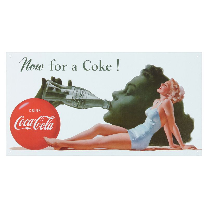 Coca-Cola Vintage Metal Wall Decor