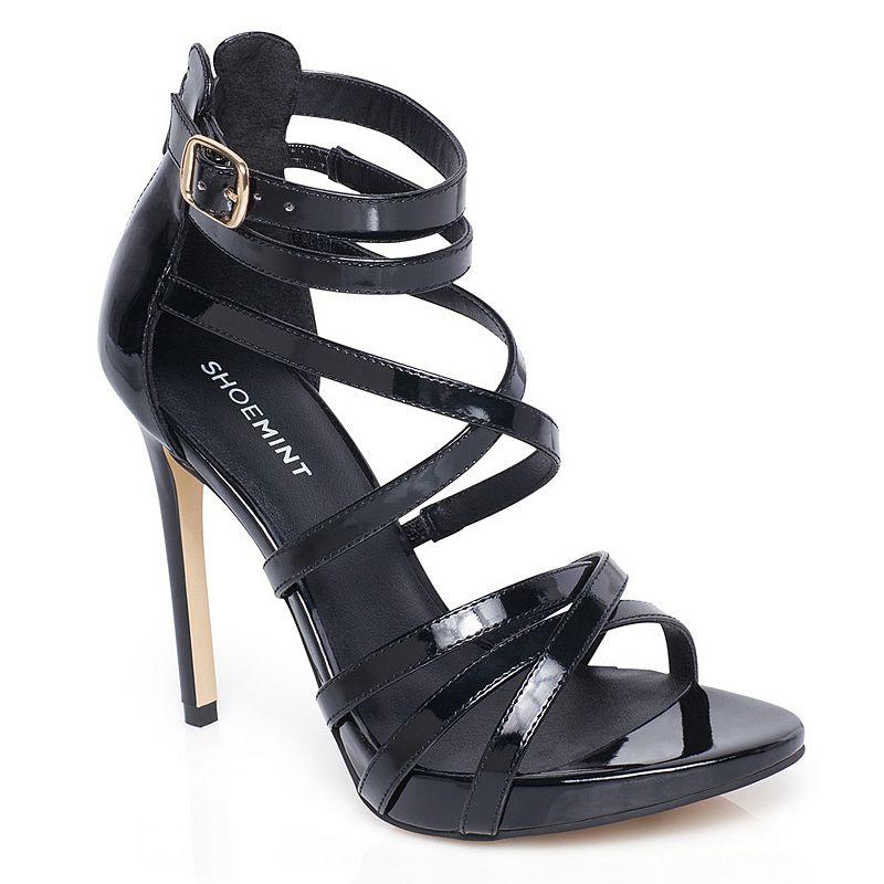 16fdc8c7227 Black Strappy Sandals: Black Strappy Heels Kohl's