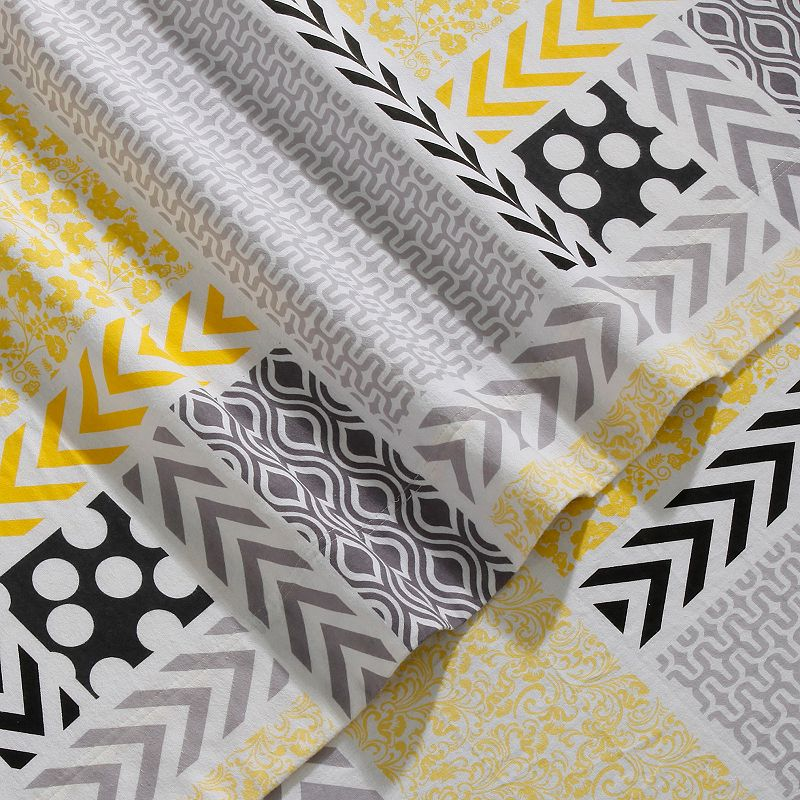 Print Deep-Pocket Flannel Sheets