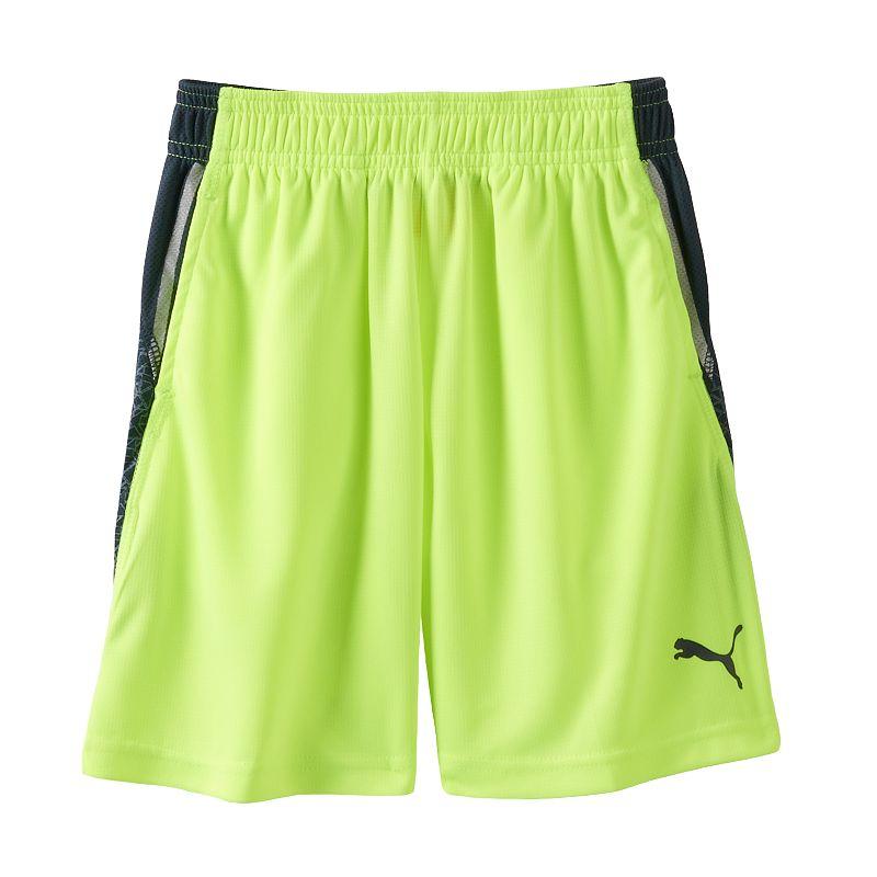 Boys 4-7 PUMA Geometric Mesh Shorts