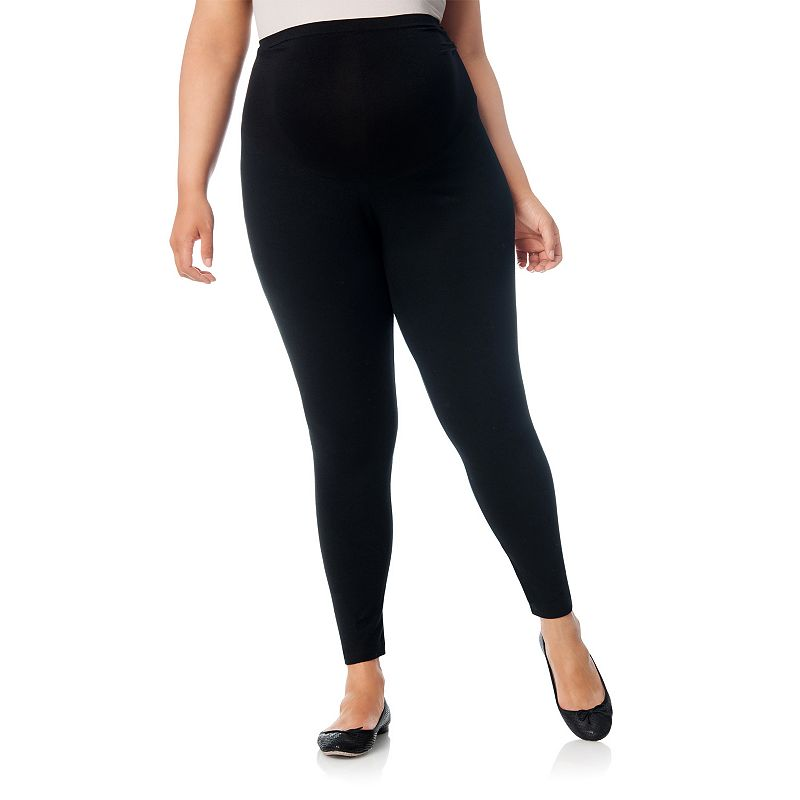 Plus Size Maternity Oh Baby by Motherhood™ Secret Fit Belly™ Solid Leggings
