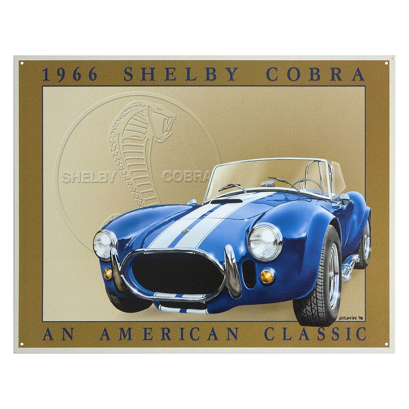 Shelby Cobra Vintage Metal Wall Decor