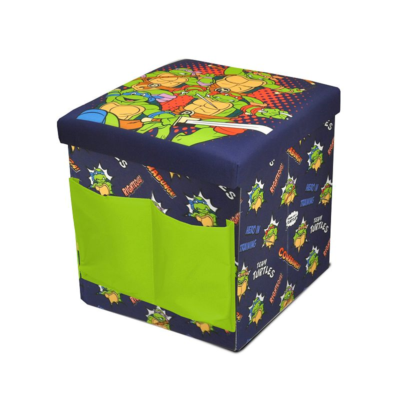 Teenage Mutant Ninja Turtles Sit & Store Folding Ottoman