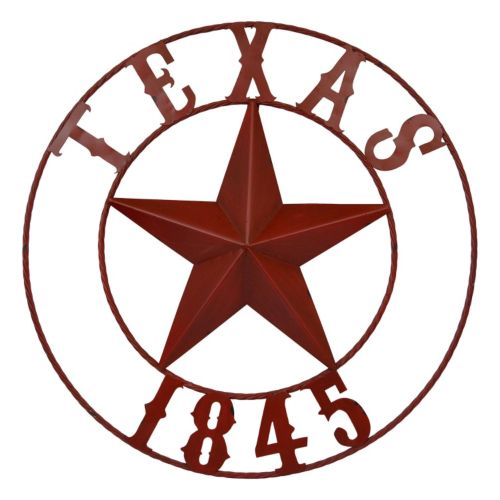 Sheffield Home ''Texas 1845'' Ring Wall Decor