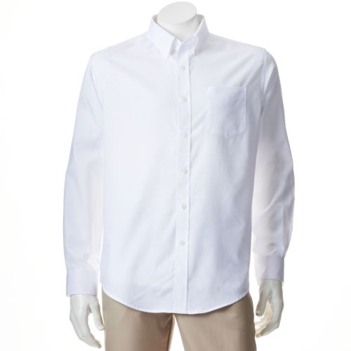 Men's Croft & Barrow ® Solid Easy-Care Casual Button-Down Shirt