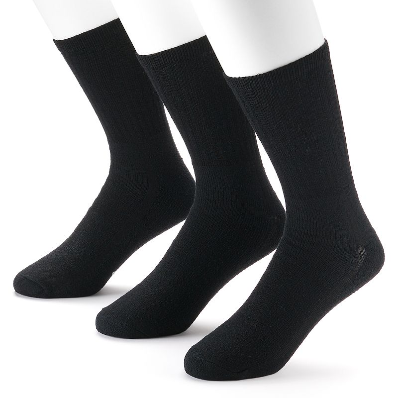 Men's Wigwam 3-pack Super 60 Cushioned Crew Socks