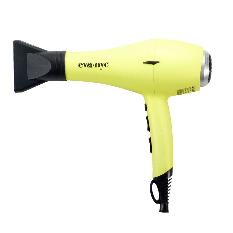 Eva NYC Almighty Pro-Lite Ionic Hair Dryer, Yellow
