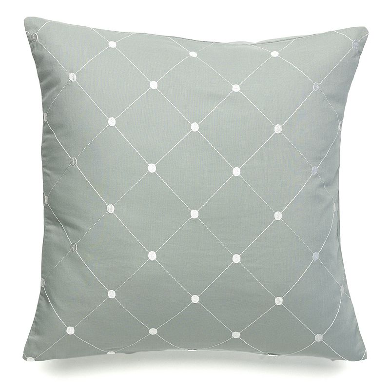Laura Ashley Lifestyles Berkley Diamond Dot Pillow