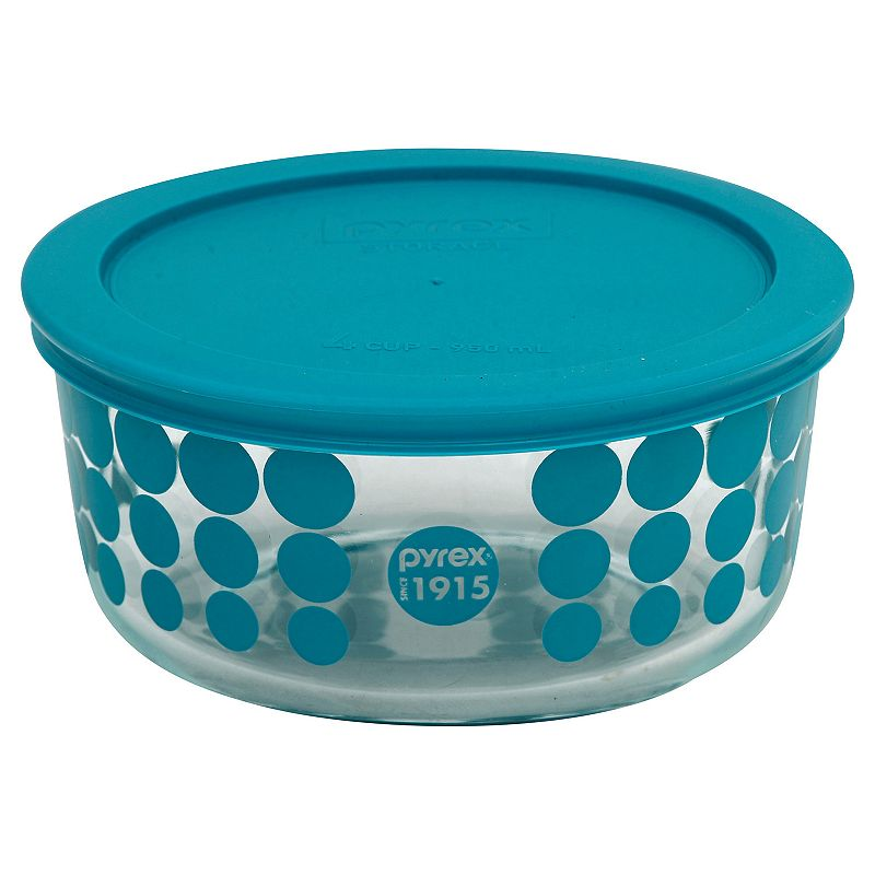 Pyrex 100-Year Anniversary 4-Cup Covered Bowl