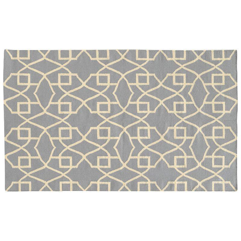 PANTONE UNIVERSE™ Matrix Geometric Reversible Wool Rug