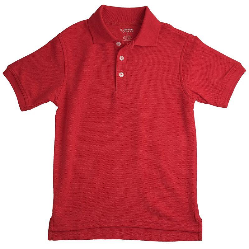 Toddler Boy French Toast School Uniform Short-Sleeve Pique Polo