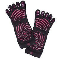 Gaiam 2-pk. Grippy Yoga Socks