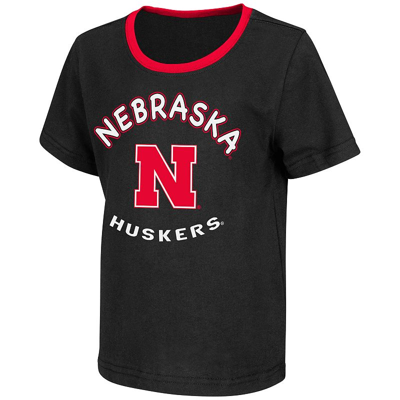 Toddler Nebraska Cornhuskers Grounder Tee