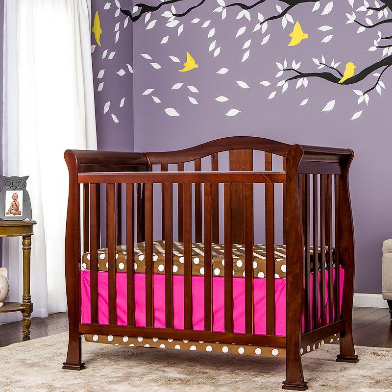 Dream On Me Naples 4-in-1 Convertible Mini Crib